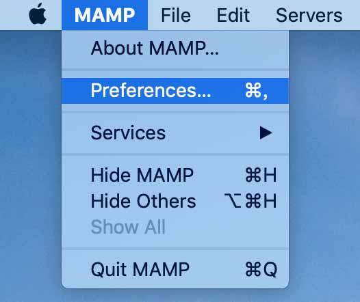 MAMPPreferences