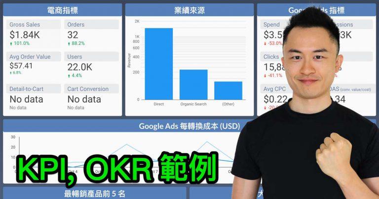 KPI, OKR範例
